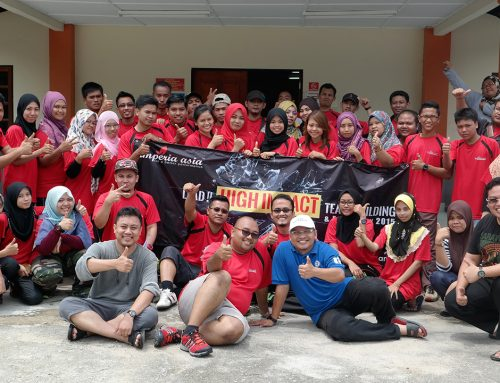 TEAM BUILDING LEMBAH AZUWEN
